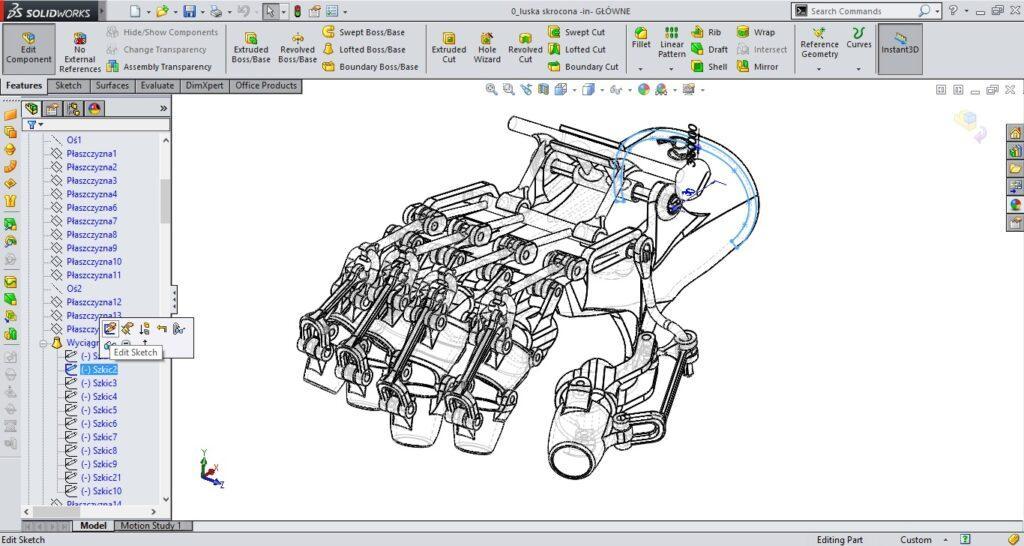 #D Printed Rehabilitation Orthosis - 3D Design