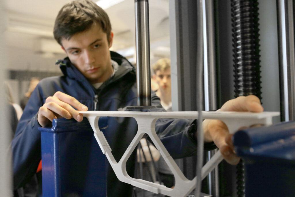 3D printed bridge prototypes