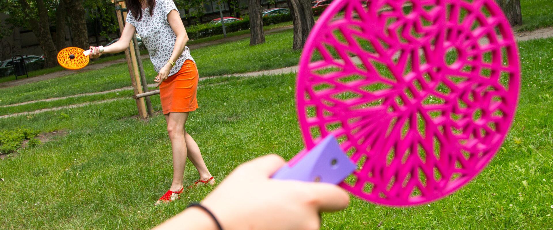 3D printed beach tennis paddles
