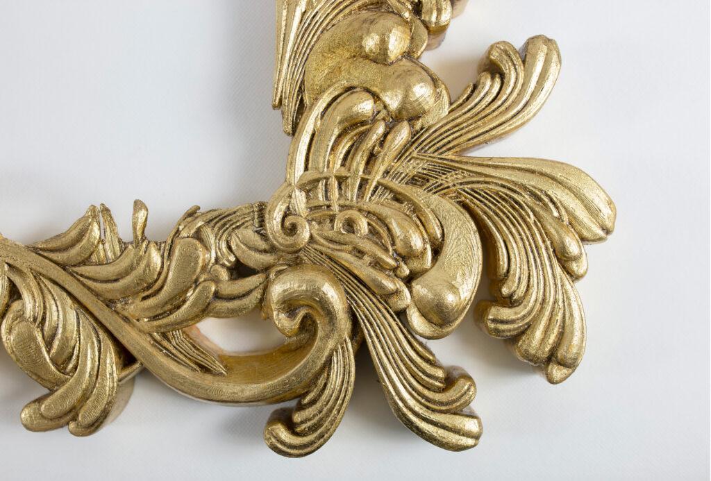 3D printed baroque frame