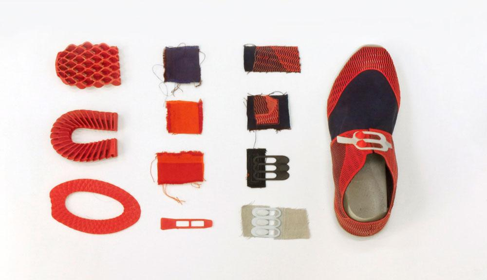 customizable 3D printed shoes