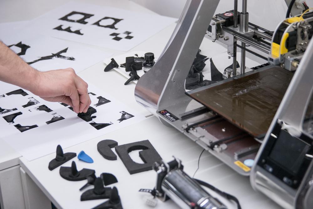 3D printed grips