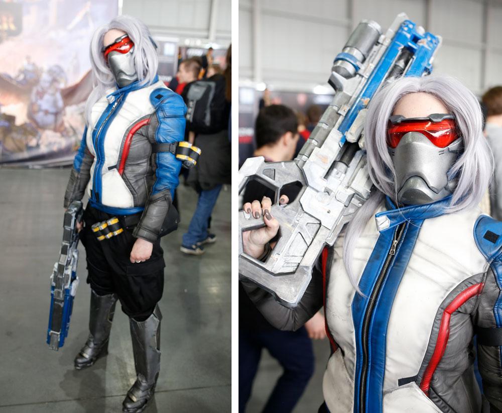 3D printed cosplay gun