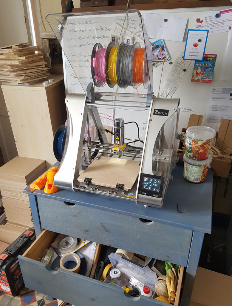 multitool 3D printer for makers