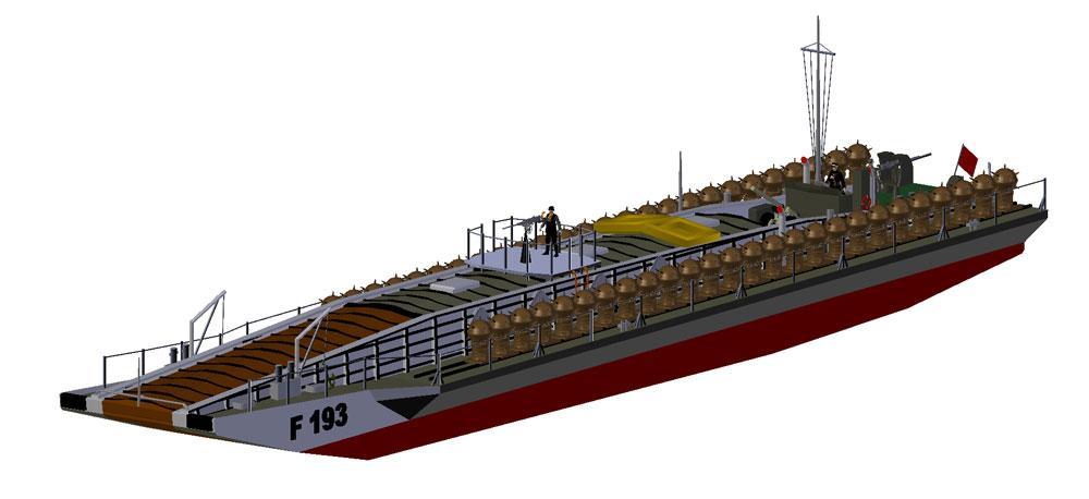 3d printed shipwreck model