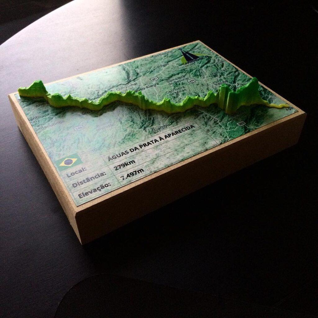 3D printed GPS Tracks