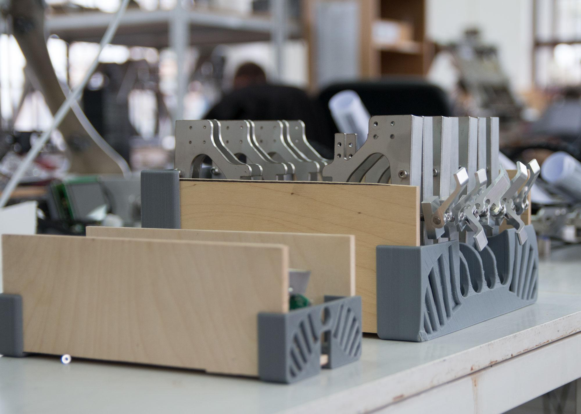 CNC table holders