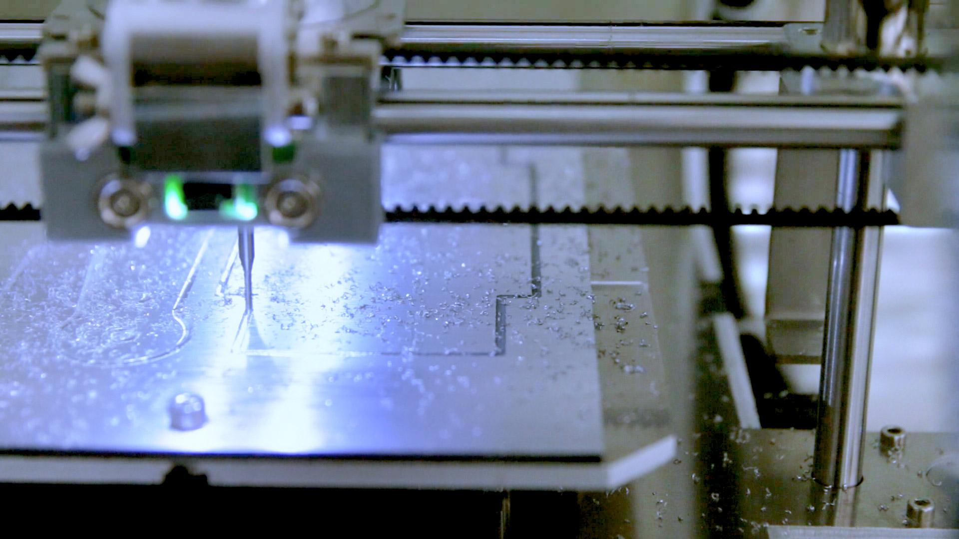 CNC milling with ZMorph VX