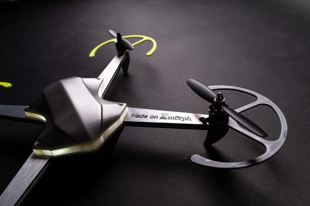 Fully functional drone made on ZMorph VX