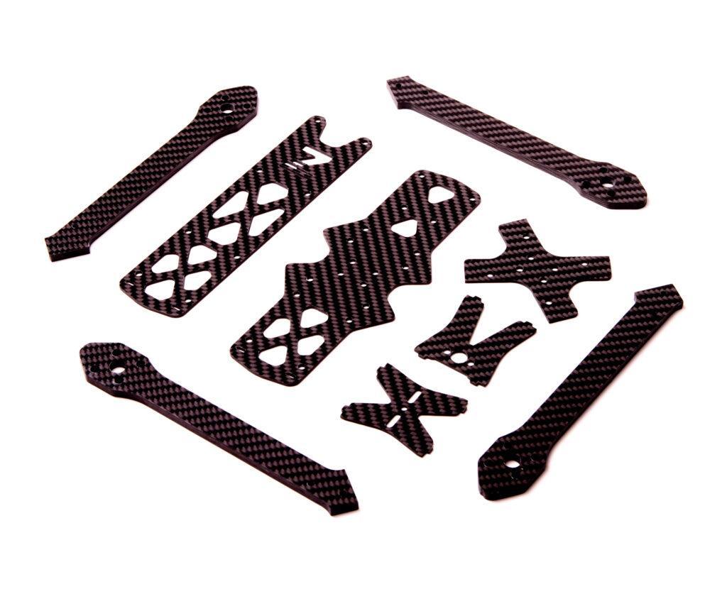 Carbon CNC milling