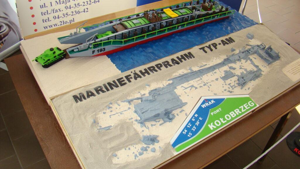 3D printed ship wreck