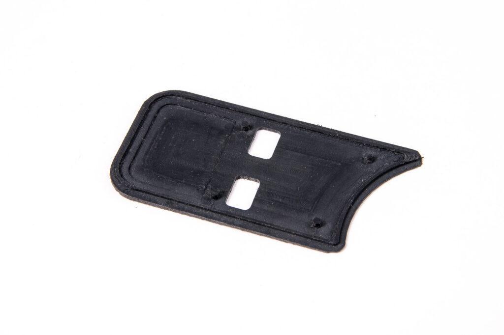 ABS plastic sample