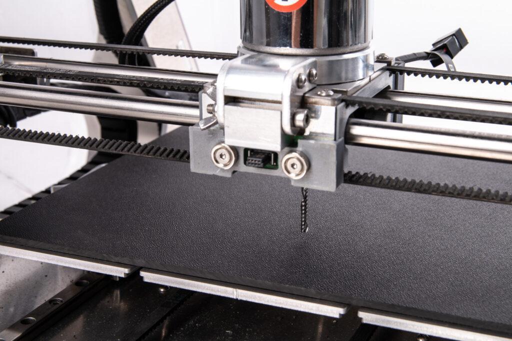 ABS sheet mounted on ZMorph VX Multitool 3D Printer