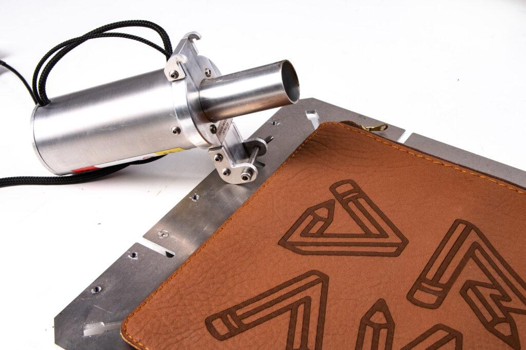 Laser PRO toolhead and leather laser engraving