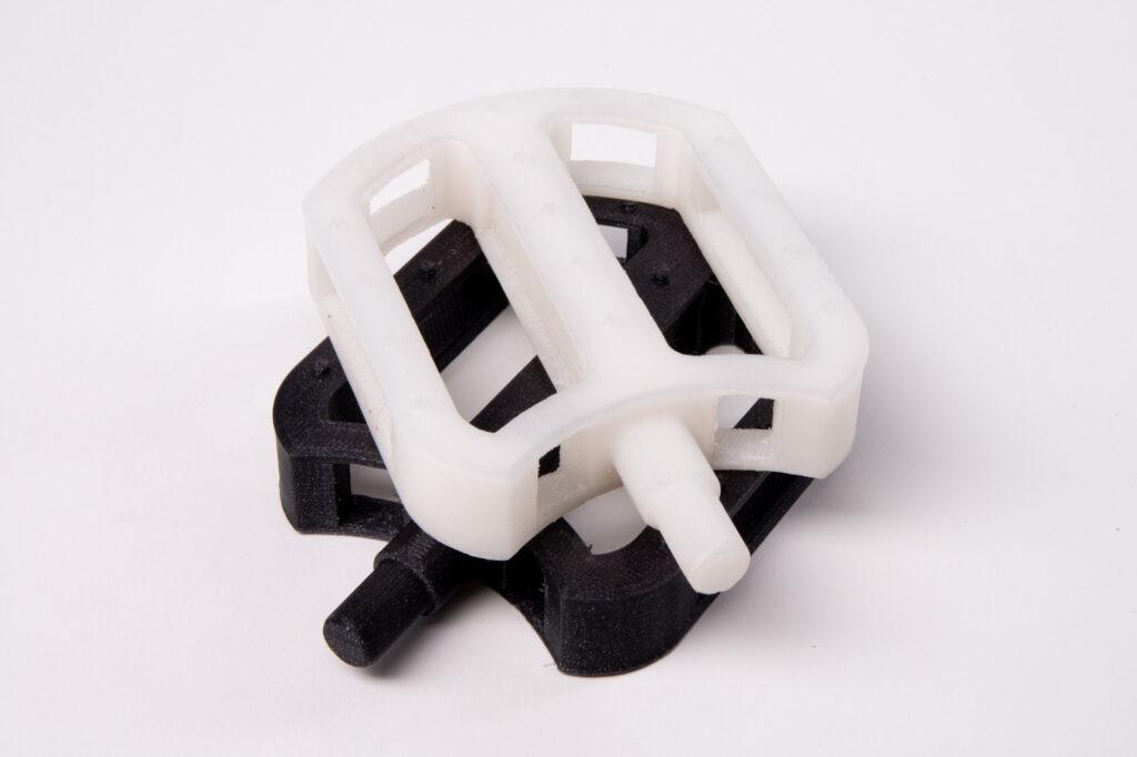 3D printed nylon bike pedals