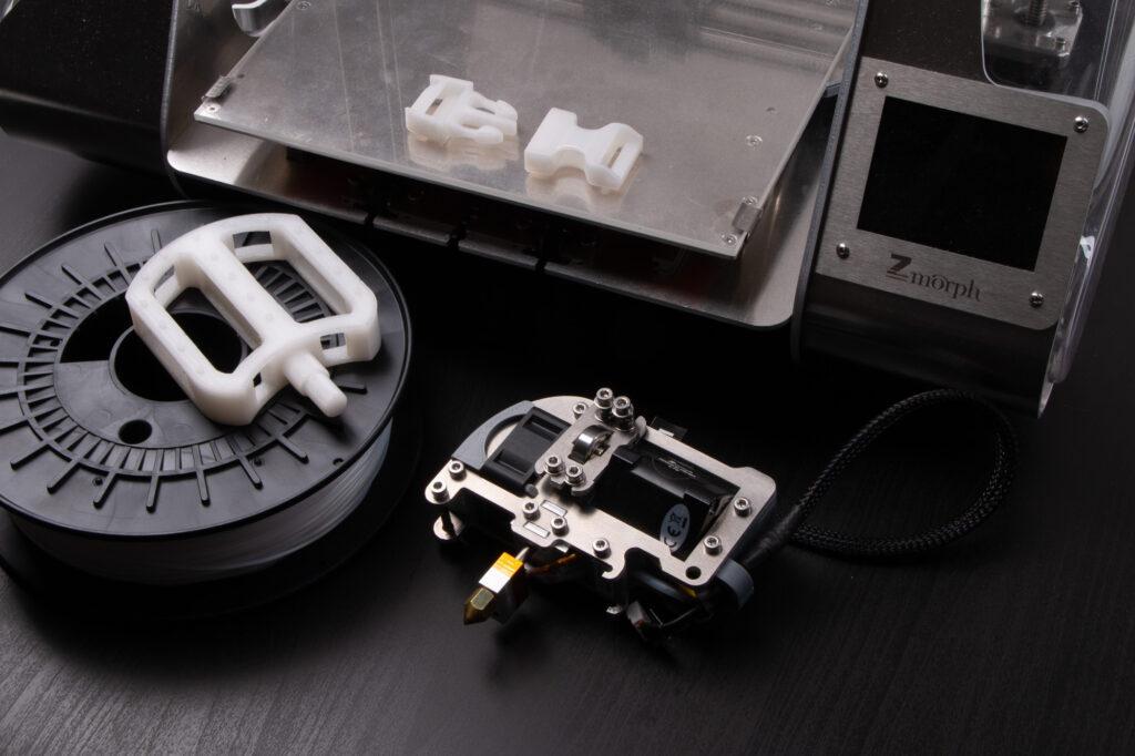 ZMorph VX Multitool 3D Printer and nylon 3D printing