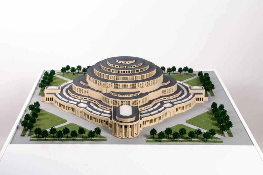 3D Printed Model of Centennial Hall
