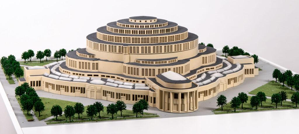 3D Printed Model of Centennial Hall