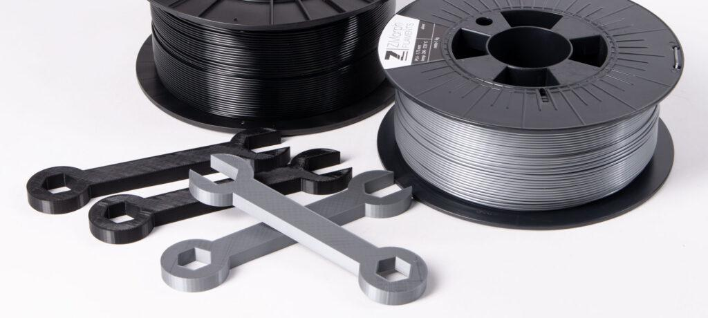 PLA and ABS