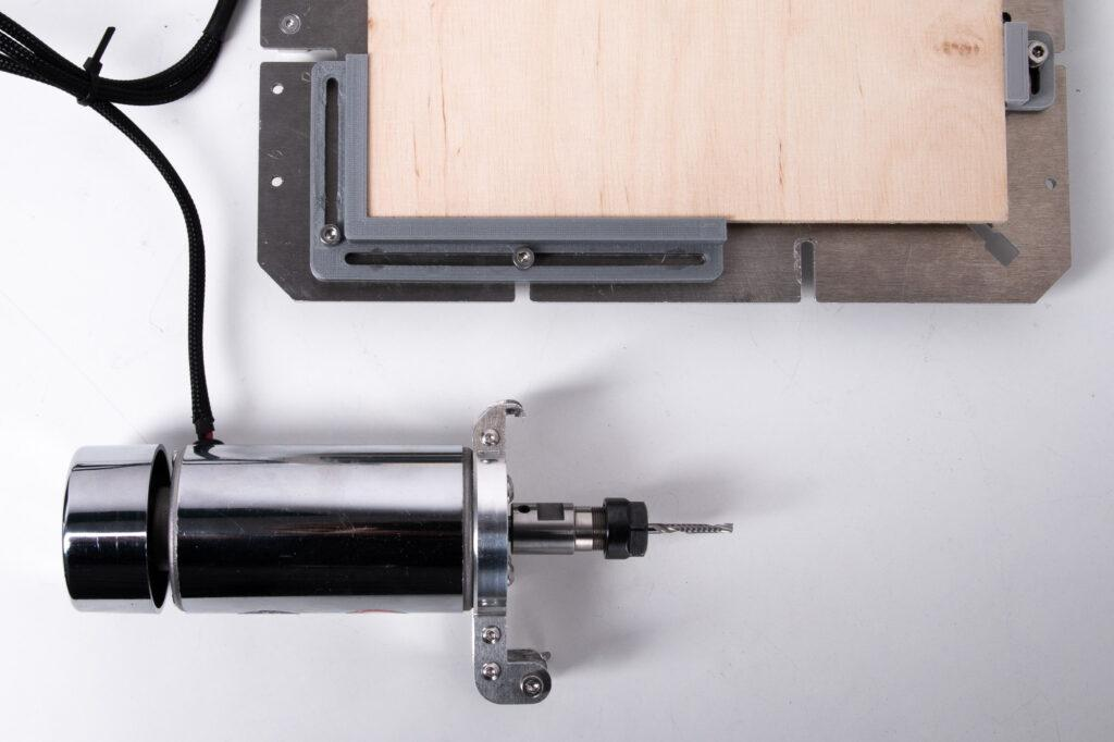 CNC PRO toolhead and VX CNC worktable