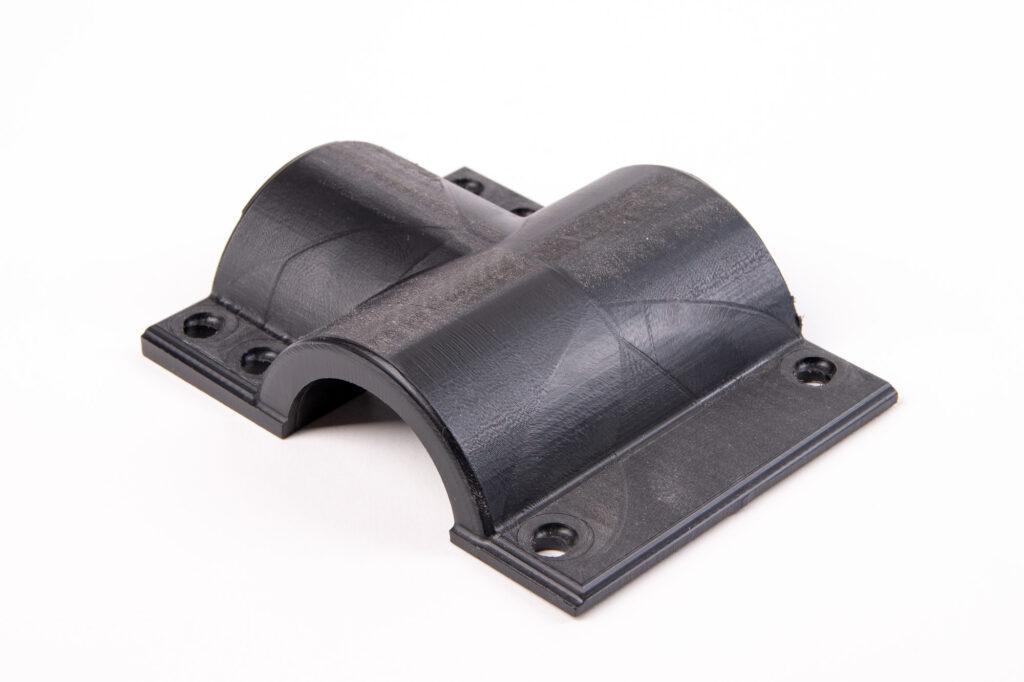 POM handle CNC machined with ZMorph VX.