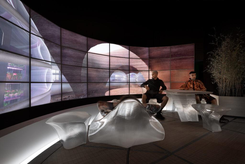Hassell Mars Habitat. Photo: Naaro Studio