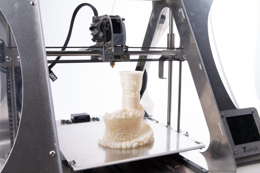 ASA 3D printing with ZMorph VX All-in-One 3D Printer