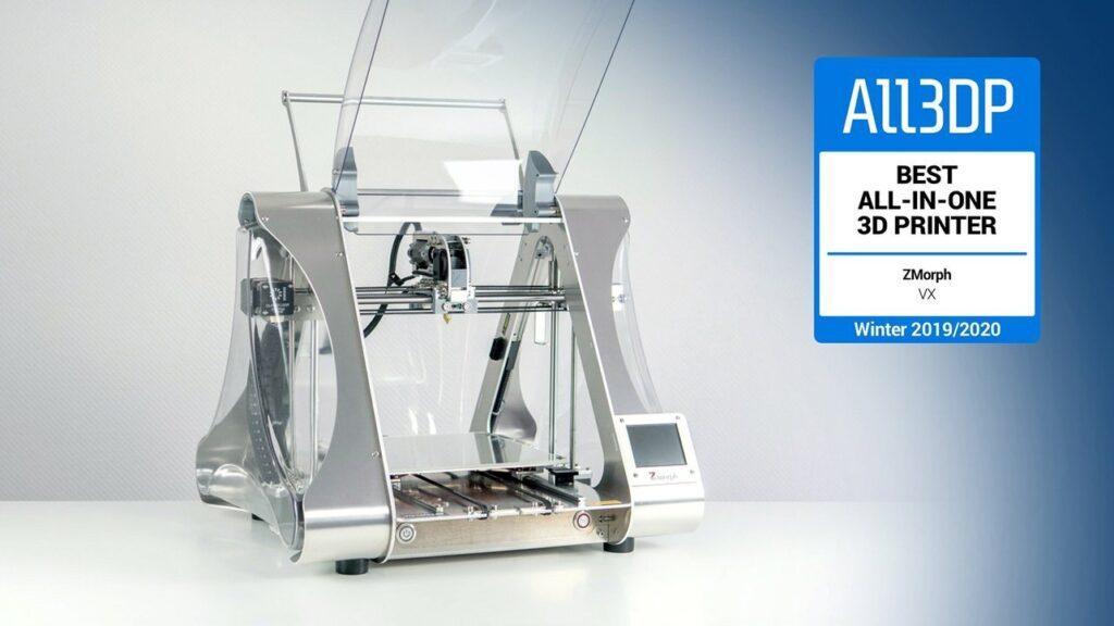 All3DP ZMorph VX Best All-in-One 3D Printer 2019