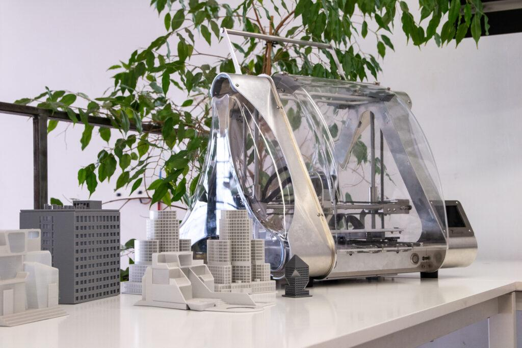 ZMorph VX All-in-One 3D Printer as a tool for architects.