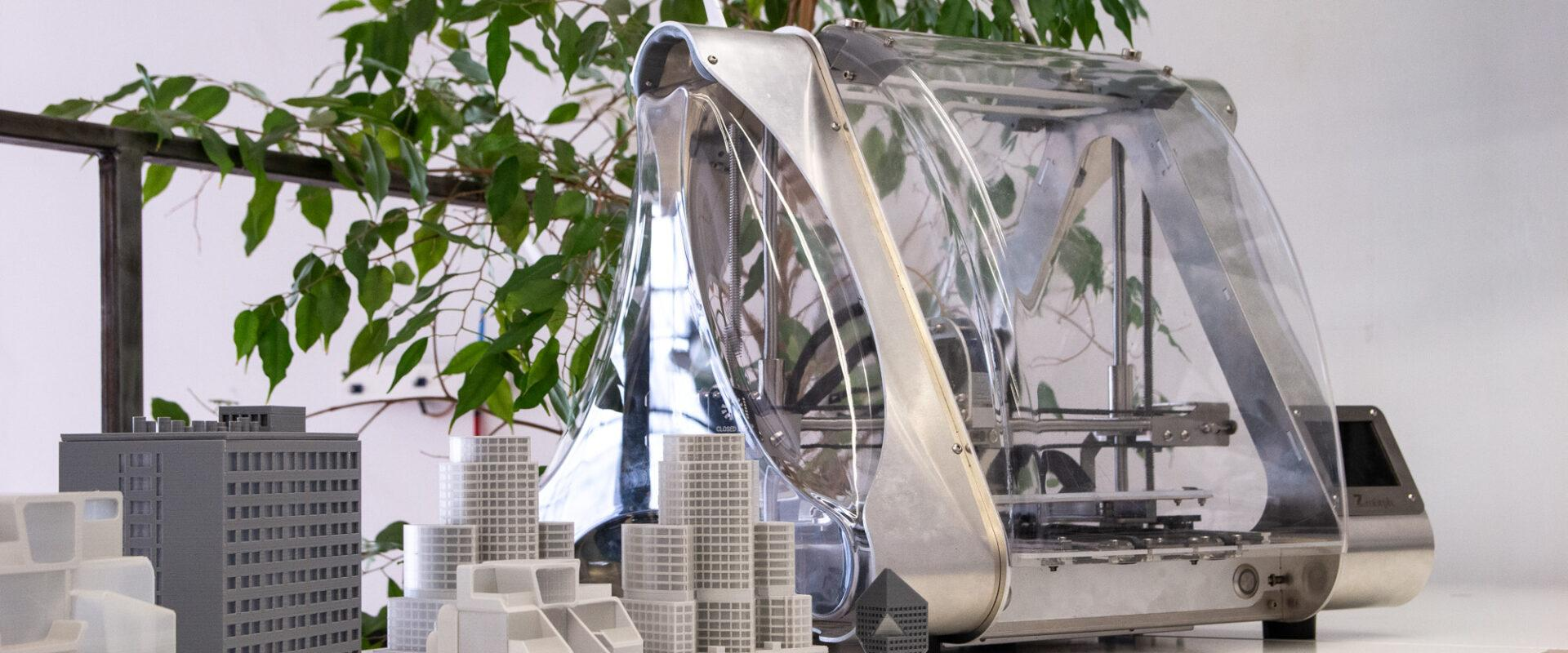How an All-In-One 3D Printer Helps Architects?