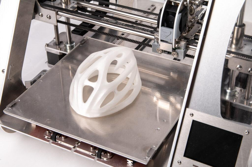3D printed polycarbonate.