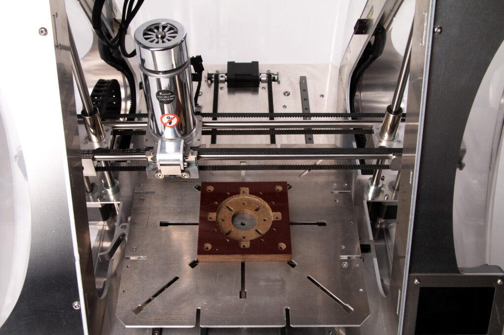 CNC machining TCF.