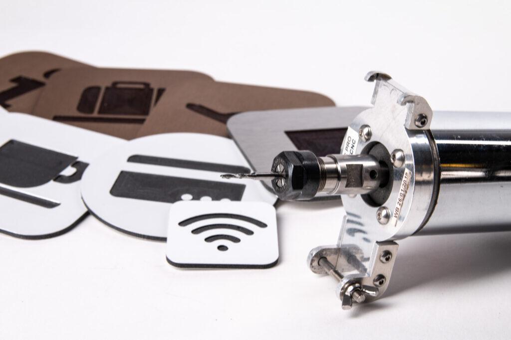 Dibond, ZMorph CNC PRO Milling Toolhead.