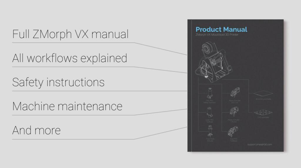 ZMorph VX Product Manual
