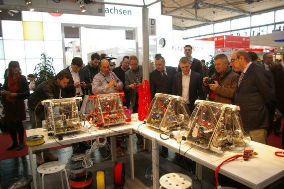 Zmorph at CEBIT in Hannover 2014