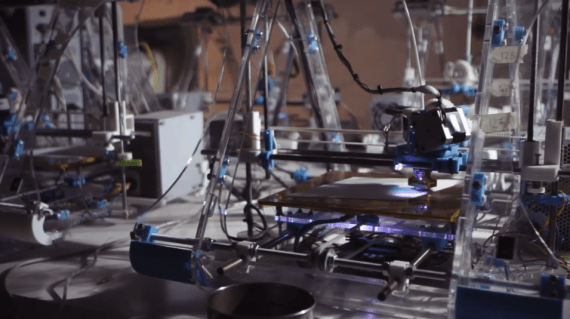 First Zmorph Multitool 3D printer