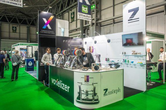 Zmorph presents Zmorph VX Multitool 3D Printer at TCT Birmingham 2017
